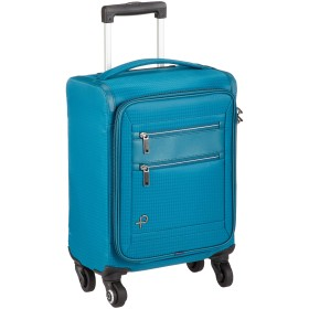 [プロテカ] スーツケース 日本製 フィーナST キャスターストッパー TSAダイヤルファスナーロック付 機内持ち込み可 18L 38 cm 1.8kg ブルーグリーン