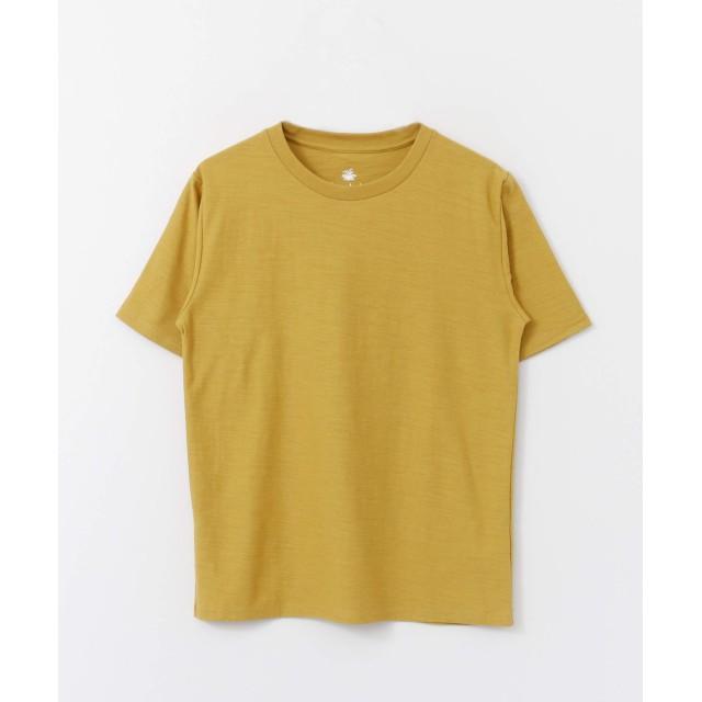 [サニーレーベル] tシャツ USAcottonスラブクルーネックT-SHIRTS メンズ イエロー L