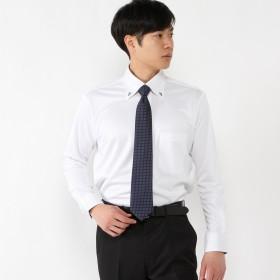 メンズ ノーアイロンボタンダウンビジネスシャツ【S~5L】