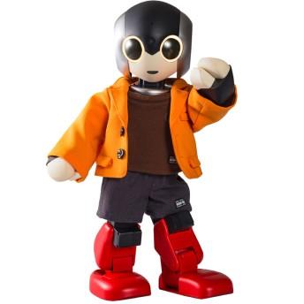 Robi専用ウェア ジャケット オレンジ(ツーピース)