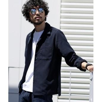 ∴微起毛オープンカラーシャツ LS 5000円以上送料無料【公式/ナノ・ユニバース】