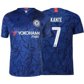 イングファンズ プレミアリーグ サッカー レプリカユニフォーム イングランド チェルシー ホーム 半袖 No.7 KANTE メンズ M