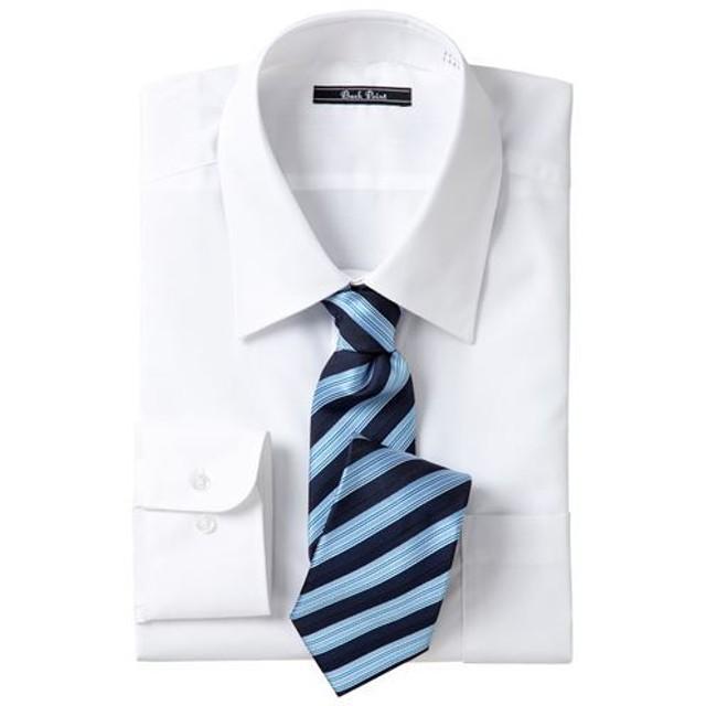 【メンズ】 形態安定ビジネスシャツ(長袖) - セシール ■カラー:レギュラーカラー ■サイズ:L,LL,M