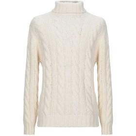 《期間限定 セール開催中》BRUNELLO CUCINELLI メンズ タートルネック ホワイト 50 毛(アルパカ) 78% / ナイロン 8% / バージンウール 8% / カシミヤ 4% / シルク 2%