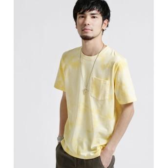 タイダイ風クルーネックTシャツ 5000円以上送料無料【公式/ナノ・ユニバース】