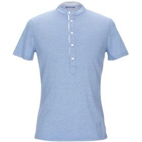 《セール開催中》PAOLO PECORA メンズ T シャツ アジュールブルー S コットン 100%
