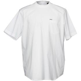 《セール開催中》DSQUARED2 メンズ T シャツ ホワイト 48 コットン 96% / ポリウレタン 4%
