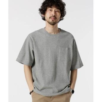 二重編みジャガードBIG Tシャツ 5000円以上送料無料【公式/ナノ・ユニバース】