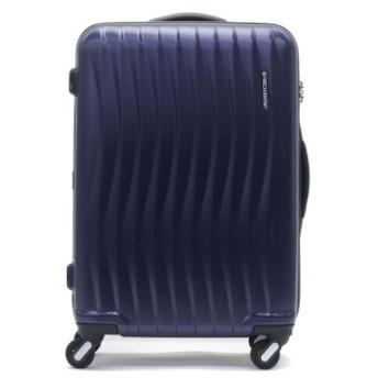 (GALLERIA/ギャレリア)フリクエンター スーツケース FREQUENTER WAVE ウェーブ キャリーケース 56L 3~5泊 エンドー鞄 1-621/ユニセックス ネイビー 送料無料