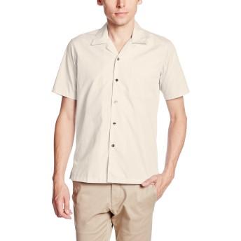 [フェイスミックス] ブロードオープンカラー半袖シャツ FB4529U メンズ ベージュ 日本 L-(日本サイズL相当)