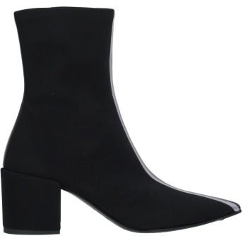 《セール開催中》ELENA IACHI レディース ショートブーツ ブラック 36 紡績繊維