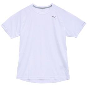 (プーマ)PUMA メンズ コアラン ショートスリーブ Tシャツ(WH-ホワイト、S)