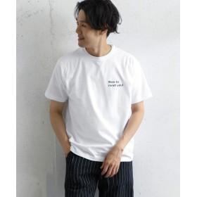 [アーバンリサーチ ドアーズ] tシャツ nice to meet you T-shirts メンズ white 38