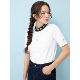 FILA ネックロゴTシャツ レディース