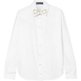 《期間限定 セール開催中》MARKUS LUPFER レディース シャツ ホワイト XS コットン 100%