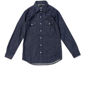【公式/ナノ・ユニバース】別注ウエスタンドレスシャツ 5000円以上送料無料【Wrangler】