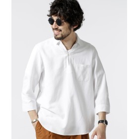 Herdman Linenスキッパーシャツ7S 5000円以上送料無料【公式/ナノ・ユニバース】
