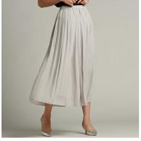 【J Lounge:スカート】ブランビジューフレアースカート