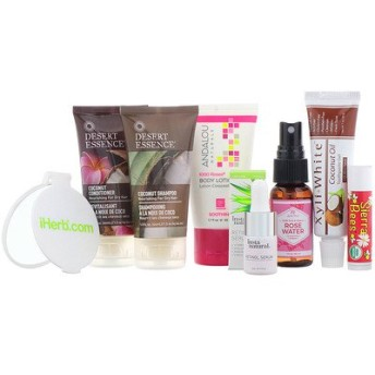 Health, Beauty & Wellness Trial Bag, 8 Pieces