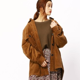 [マルイ]【セール】オーバーサイズコーデュロイシャツ/グランドパーク(GRAND PARK)