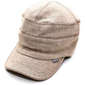 帽子 キャップ メンズ レディース スウェット 大きいサイズ ウェルテイラード 裏毛 無地 (07-kkc282) ベージュ