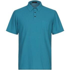 《期間限定 セール開催中》ROBERTO COLLINA メンズ ポロシャツ ディープジェード 50 コットン 100%