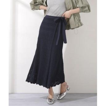 クロシェレースラップスカート 5000円以上送料無料【公式/ナノ・ユニバース】