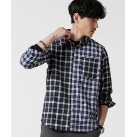 クレイジーチェックサッカーシャツ 5000円以上送料無料【公式/ナノ・ユニバース】