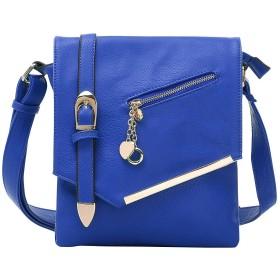 MKFコレクション バッグ ボディバッグ・ウエストポーチ Jasmine Cross-Body Shoulder Bag Blue [並行輸入品]