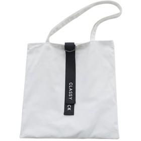 Shellme 新型 トートバッグ キャンバス ショルダーバッグ エコバッグ 買い物バッグ ショッピングバッグ 大容量 通勤 通学 旅行 レディース 女の子 ガールズ 女性 ホワイト