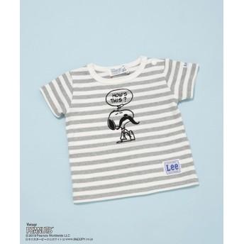 【公式/ナノ・ユニバース】スヌーピーボーダーTシャツ 5000円以上送料無料【STOMP STAMP】