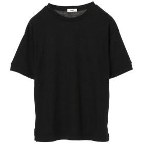 【オンワード】 koe(コエ) ハニカム5分袖プルオーバー Black F レディース 【送料無料】