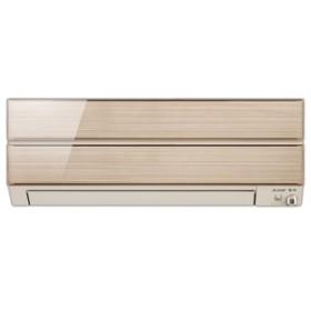 三菱10畳向け 冷暖房インバーターエアコンオリジナルシャンパンゴールドMSZ-ES2818-Nセット