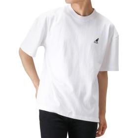 KANGOL ワンポイントTシャツ 半袖Tシャツ クルーネック 9273-0123 メンズ ホワイト:XL