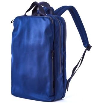 カバンのセレクション アンクール リュック ビジネスリュック メンズ レディース スクエア ブランド 撥水 防水 Un coeur NTR 906271 ユニセックス ネイビー フリー 【Bag & Luggage SELECTION】