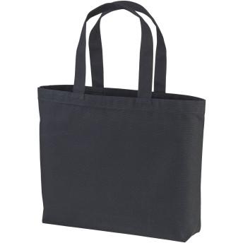 Anbaby(アンベイビー) ヘヴィー キャンバス トートバッグ 大容量 コットン シンプル bag 肩がけ 丈夫 13L ブラック F