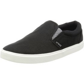 [クロックス] スニーカー CitiLane Slip-on Sneaker Black/White US M9(27 cm)