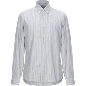 《期間限定セール開催中!》BRUNELLO CUCINELLI メンズ シャツ グレー M コットン 100%