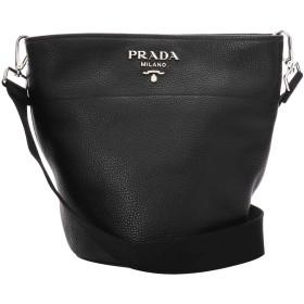プラダ(PRADA) ショルダーバッグ 1BE012 UWL F0002 ヴィッテロダイノ ブラック 黒 [並行輸入品]