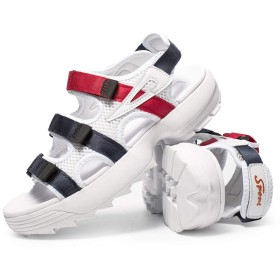 [XYZL] サンダル メンズ スポーツサンダル ベルクロ ストラップ メンズ ビーチサンダル カジュアル ネイビー スポサン 学生 おしゃれ 通学 滑り止め 通気 水陸両用 歩きやすい 27.5cm 軽量 男性用 アウトドア 大きいサイズ