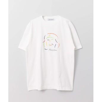 [アーバンリサーチ] tシャツ VARIOUS TIMELESS ARTS×URBAN RESEARCH iD REVOLUTION メンズ WHITE L