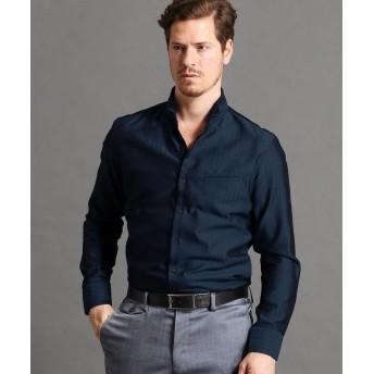 ムッシュニコル スタンドカラーシャツ メンズ 67ネイビー 50(LL) 【MONSIEUR NICOLE】