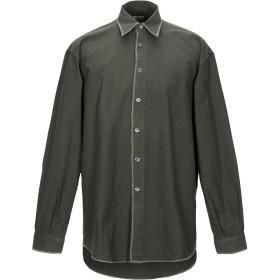《期間限定セール開催中!》AGE メンズ シャツ ミリタリーグリーン XL コットン 100%