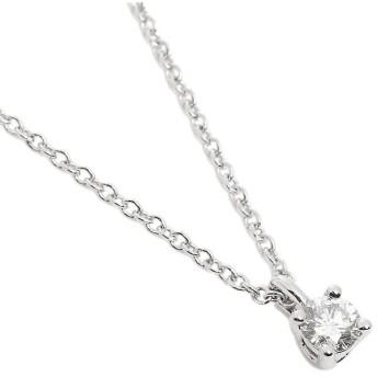 【送料無料】ティファニー ネックレス TIFFANY & Co. 14001557 ソリティア ダイヤモンド ペンダント プラチナ