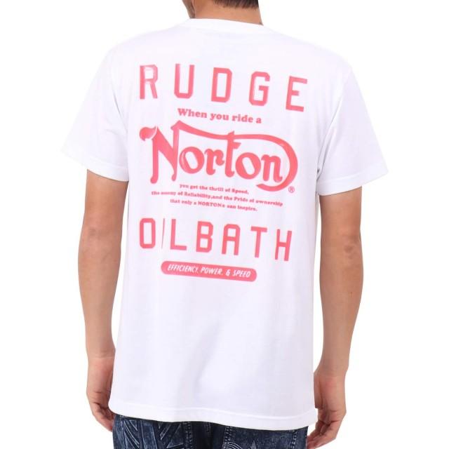 [ノートン] Norton Tシャツ リミテッド JAPAN加工 吸水速乾 HD ネオン Tee 192N1018Q ホワイト M