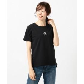 (anyFAM/エニィファム)【洗える】OYAKO-DEディズニーコレクション Tシャツ/レディース ブラック系