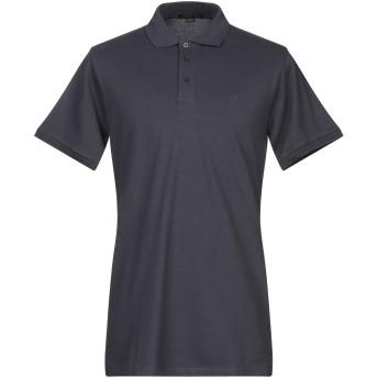 《期間限定セール開催中!》LIU JO MAN メンズ ポロシャツ ダークブルー XXL コットン 95% / ポリウレタン 5%