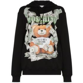 Moschino Bear print hoodie - ブラック