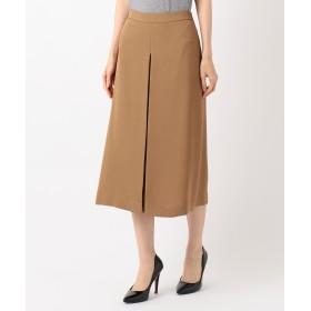 【オンワード】 自由区(ジユウク) 【洗える】ELEGANCE TWILL Aラインスカート キャメル 36 レディース 【送料無料】