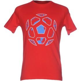 《期間限定セール開催中!》BIKKEMBERGS メンズ T シャツ レッド XXL コットン 92% / ポリウレタン 8%